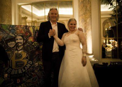 Dinner: Kristian von Hornsleth and the Bride