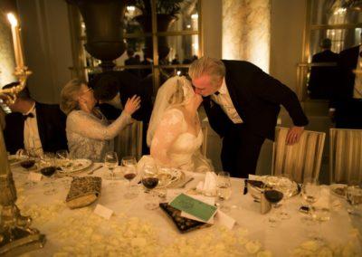 Dinner: Kissing the Bride