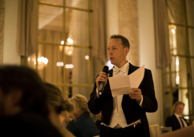 Dinner: The sixth speech from the best man #2, Christian Holm.